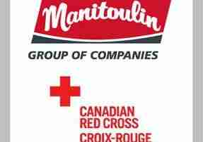 Manitoulin Group of Companies Donates To Canadian Red Cross